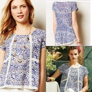 Tops - Anthropologie Meadow Rue Lace Top